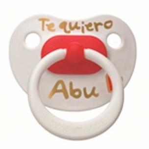 Bibi Chupete Te quiero Abu (desde 12 meses)