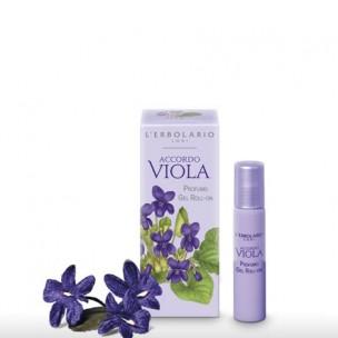 L'erbolario Accordo Viola Perfume gel rolón (15 ml)