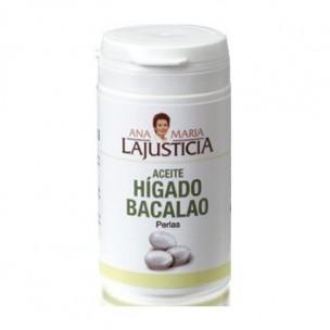 Ana María La Justicia Hígado de Bacalao (90 perlas)
