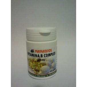 Manabios Vitamina B Complex (60 perlas de 700 mg)