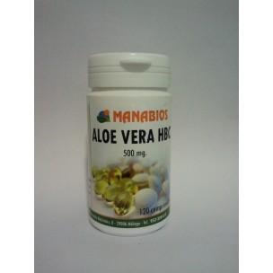 Aloe Vera HBC Manabios (120 compr. de 500 mg)
