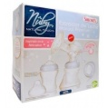 Nuby Natural Touch Set Saca-Leche Manual