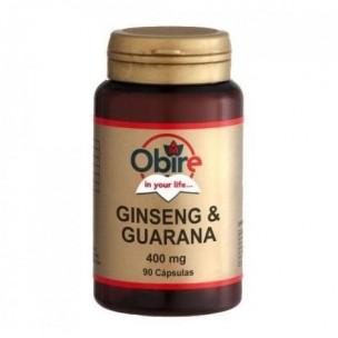 Obire Ginseng y Guaraná 90 cap. de 400 mg.