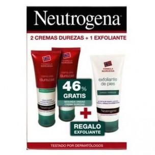 Neutrogena Crema dureza Duplo 2x 50ml +Exfoliante 75 ml