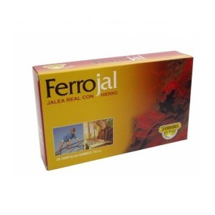 Ferrojal Jalea real con Hierro (20 Amp. de 10 ml)