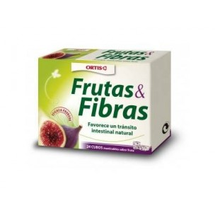 Ortis Fruta y Fibras (12 cubitos masticables)