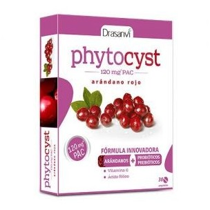 Drasanví Phytocyst Arándo Rojo Americano (30 compr. 60 mg de 120 mg Pac)