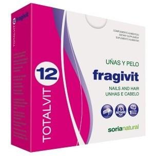 Totalvit 12 Fragilvit uñas y pelos (28 compr.)