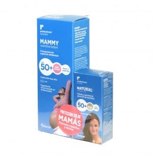 Ferrer Protextrem Mammy Spf 50+ (Loción nutritiva antiestrías+ Fluido invisible)