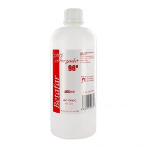 Alcohol 96 reforzado Betafar (250 ml)