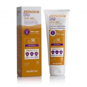 Sesderma Repaskin Fotorreparador SPF 50 Facial/Body+Hidraderm Crema Corporal (200 ml+50 ml)
