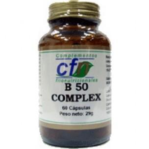 Vitamina B 50 Complex (60 cáp. de 545 mg.)