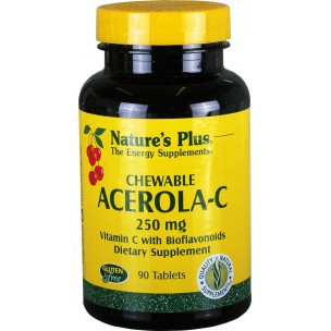 Nature's Plus Acerola-C (90 compr. masticables de 250 mg)