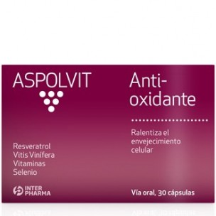 Aspolvit Anti-Oxidante Interpharma (30 cáp.)