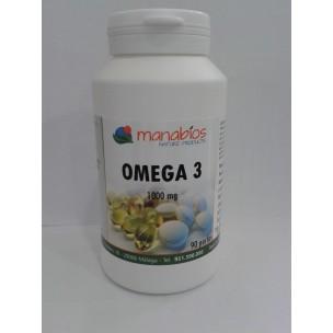 Manabios Omega 3 (90 perlas de 1000 mg.)