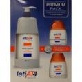 LetiAT4 Pack Premiun (Leche corporal+Gel de baño dermograso+Champú)