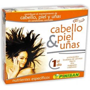 Pinisan Cabello, Piel y Uñas (40 cáp.)