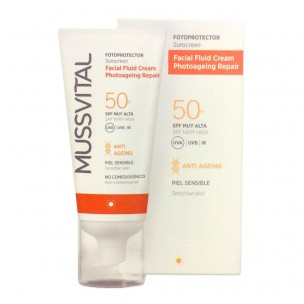 Mussvital Fotoprotector Facial Fluido Crema SPF 50+ (50ml)