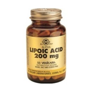 Solgar ACIDO ALFA LIPOICO (200mg. 50 vegicaps)