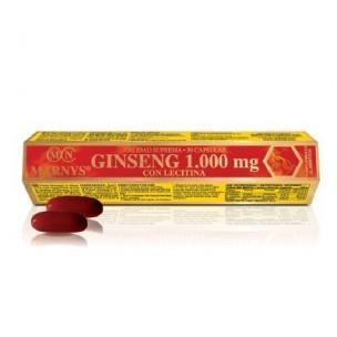 Marnys Ginseng 1.000 mg con Lecitina(30 cápsulas)