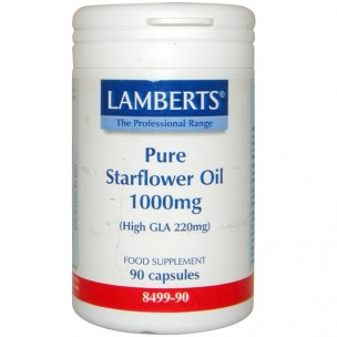 Lambert Aceite de Borraja Puro HIGH GLA220mg(90cap. de 1.000 mg.)