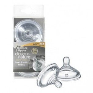 Tommee Tippee Tetina Silicona +6M