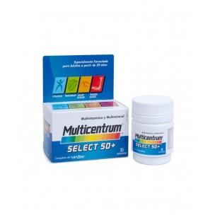 Multicentrum Select 50+ Hombre (30 compr.)