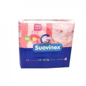 Pañales Suavinex Talla 4 de 12-18 Kg
