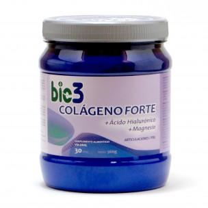 Bio3 Colágeno Forte + Ácido Hialurónico +Magnesio (360g)