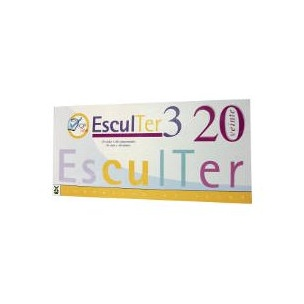Esculter 3 (20 viales+40 compr.)