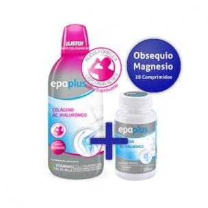 Epaplus Colágeno Líquido (frambuesa) + Magnesio (28 compr.)
