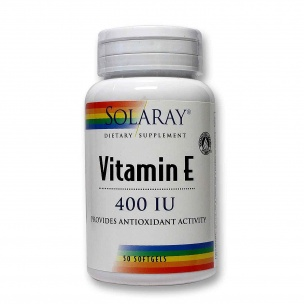 Solaray Vitamina E ( 50 perlas )