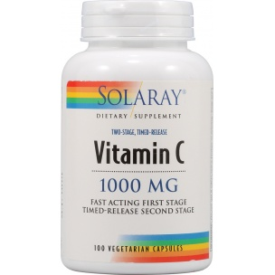 Solaray Vitamina C 1000 mg. (100 comp.)