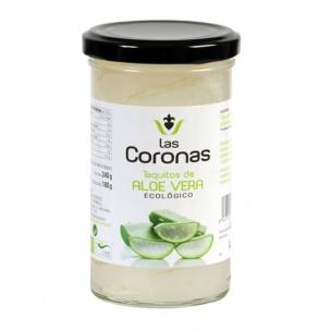 Las Coronas Taquitos de Aloe vera Ecológicos (240 gr.)