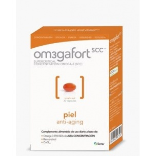 Omegafort Piel Ferrer (30 Capsulas)
