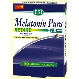 Melatonina pura Retard Esi (60 capsulas)