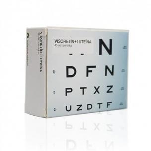 Visoretín + Luteína (45 compr.)