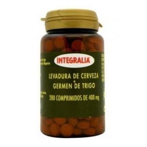 Levadura de cerveza + Germen de trigo Integralia (280 comp.)
