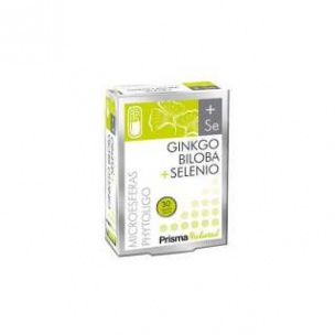 Ginkgo Biloba+Selenio Prisma Natural (30 cápsulas)