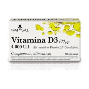 Vitamina D3 Natysal (60cap)