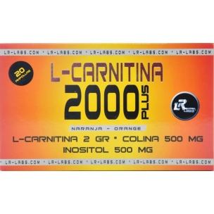 L-Carnitina 2000 Plus LR Labs (20amp)