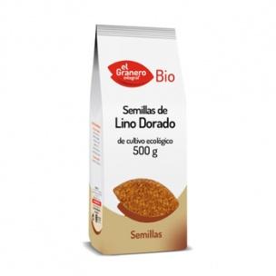 Semilla de Lino Dorado Bio El Granero (500 gr.)