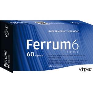 Ferrum 6 Vitae (60 cáp.)