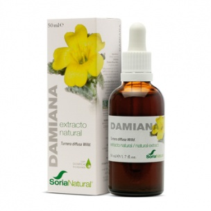 Soria Natural Damiana Extracto (50ml)