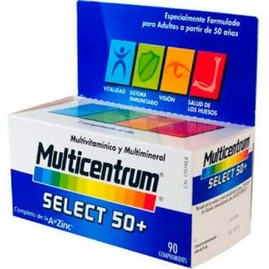 Multicentrum Select 50 + (90 compr.)