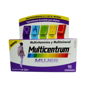 Multicentrum Mujer ( 90 compr. )