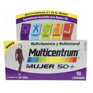 Multicentrum Mujer 50+ (90 comp)