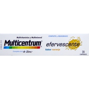 Multicentrum Efervescente (20 comp)