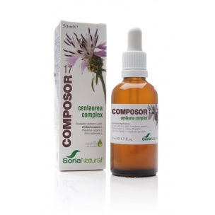 Composor 17 Centaurea Complex Soria Naturak (50ml)