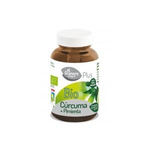 Cúrcuma + Pimienta Bio El Granero (60cap)